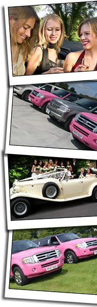 Blackpool limousines homepage graphic